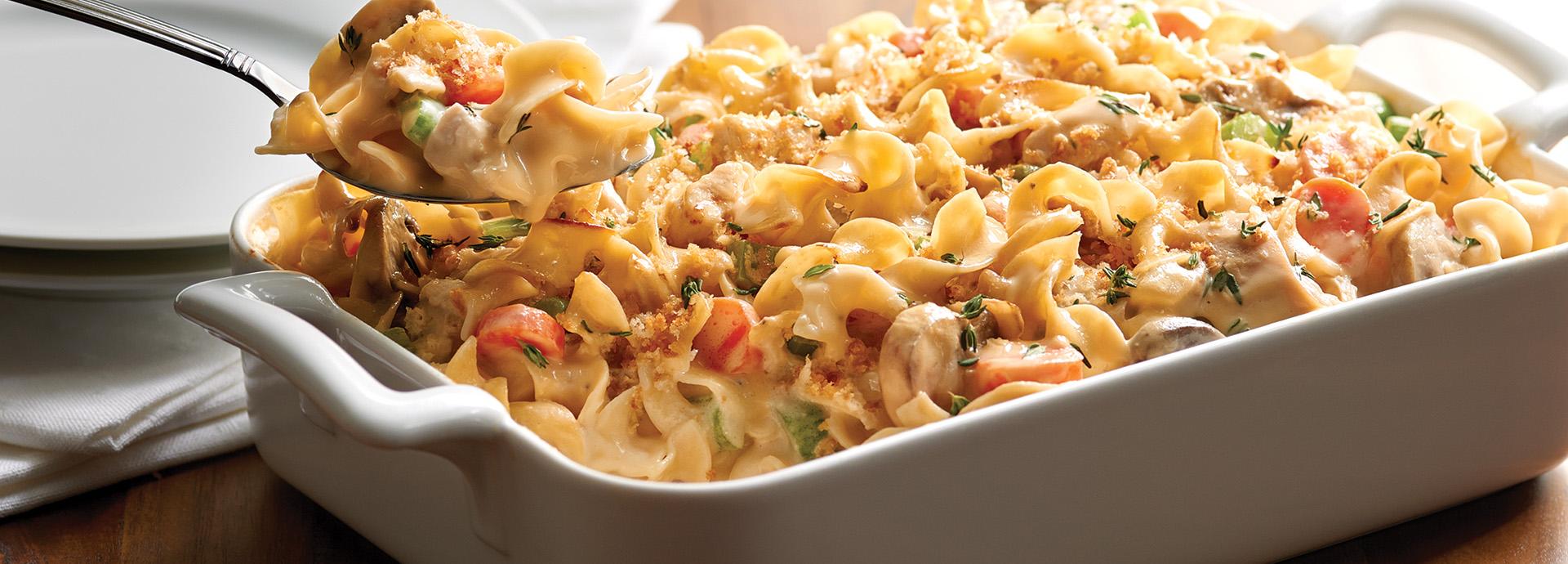 No Yolks 174 Creamy Chicken Noodle Casserole