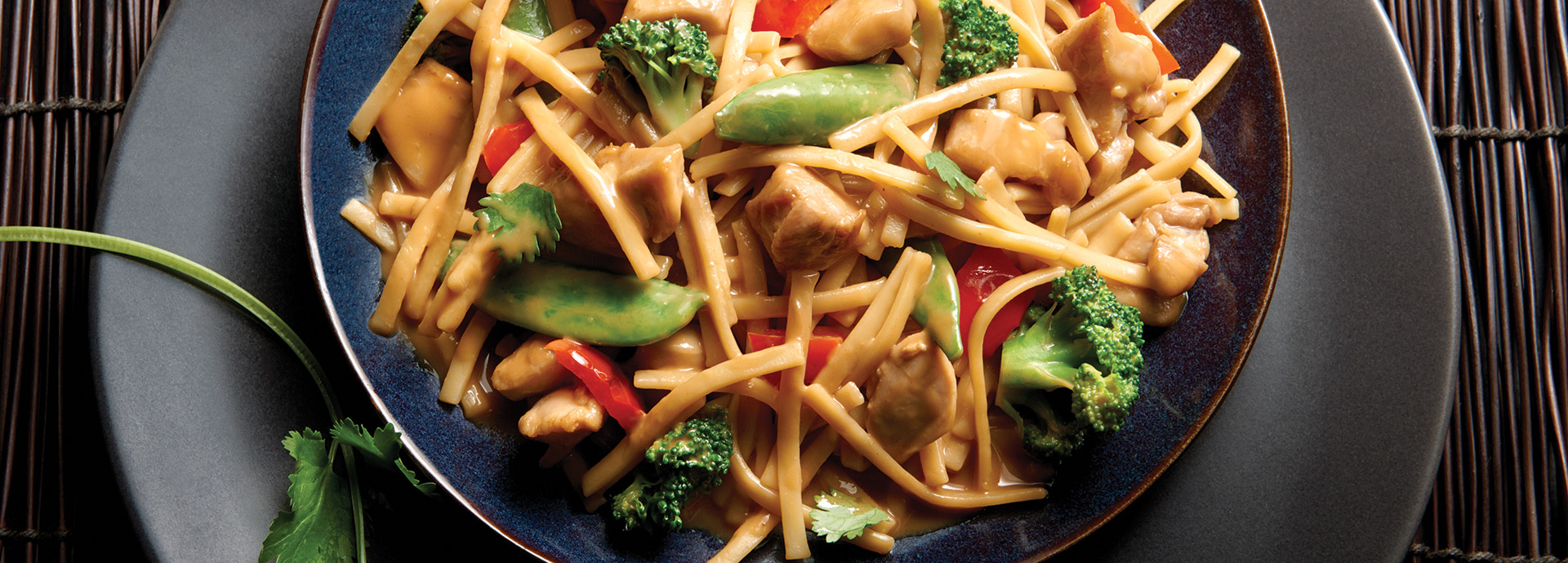 No Yolks 174 Kluski Noodles With Asian Vegetables And