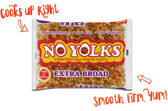 No Yolks® Extra Broad Noodles
