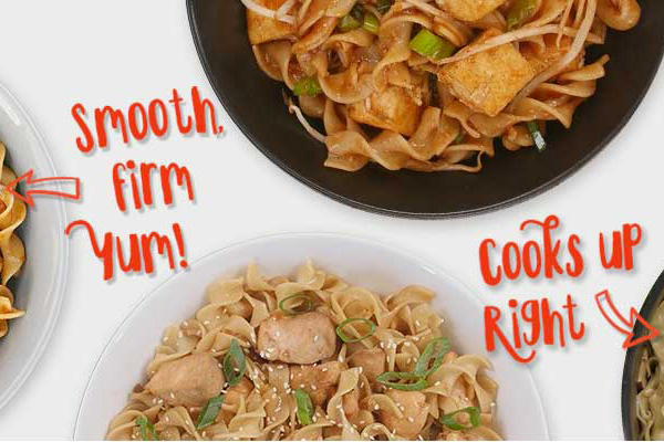 Not Your Mama Noodle Recipes